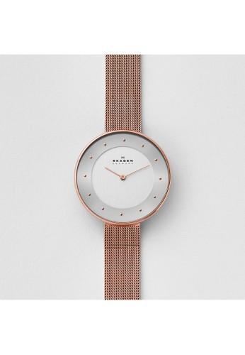Skagen GITTE女錶 SKW2142, 錶類,esprit 童裝 淑女錶