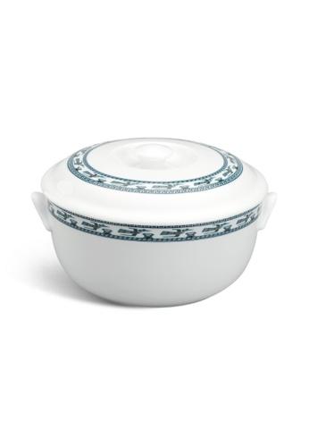 Minh Long I white Annam Bird: Porcelain Soup Tureen 96F35HL1071AF0GS_1