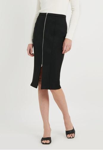 FORCAST black FORCAST Mila Pencil Skirt F89CEAA3BD0029GS_1