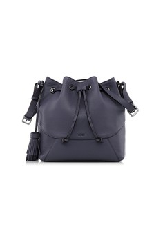 Gun Metal Classic Bucket Bag