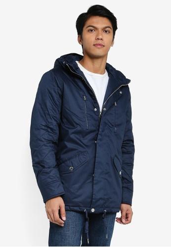 Indicode Jeans navy Chance Hooded Parka Jacket AC1A4AA1AAAA73GS_1