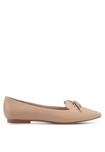 ZALORA brown Loafer Flats A081FSH5A35398GS_1