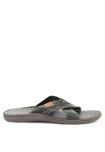 LOIS JEANS black Sandals 7AA15SH0A02F3DGS_1
