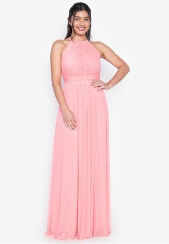 Tantease pink Nicia Evening Dress C5F39AAA7D3812GS_1