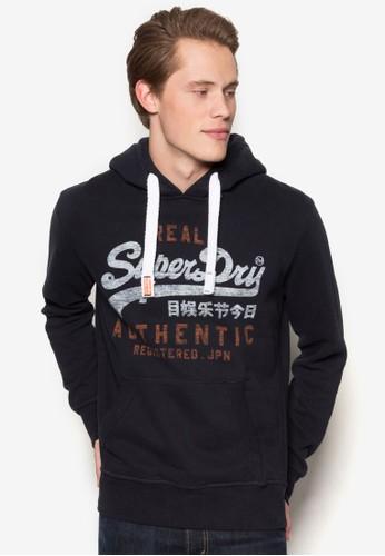 Viesprit 品牌ntage Authentic 品牌連帽長袖衫, 服飾, 連帽