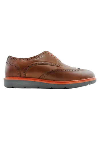 Rad Russel brown Rad Russel Casual Brogues RA654SH45QGKSG_1