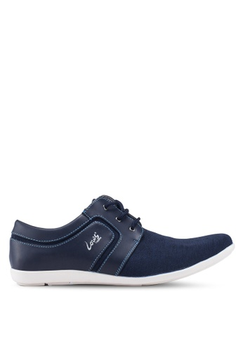 Louis Cuppers blue Louis Cuppers Sneakers FBCCDSHF28F4C9GS_1