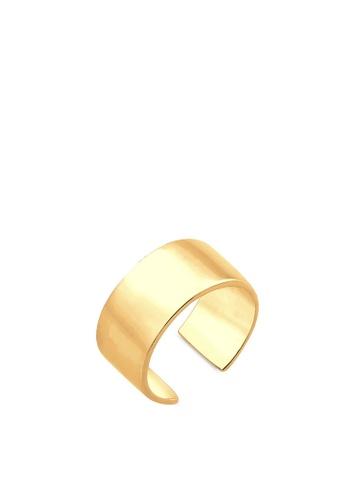 ELLI GERMANY gold Elli Germany Earrings Ear Cuff Basic Trend Silver Gold Plated 22587AC32C61D9GS_1
