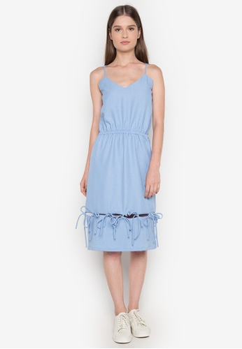 NEW ESSENTIALS blue Ivar Aseron Sun Dress NE239AA0JD2OPH_1