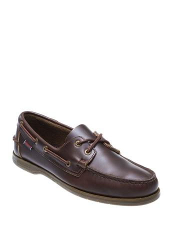 Sebago brown Mens Endeavor Casual Shoes 9B0F4SH3EE481EGS_1