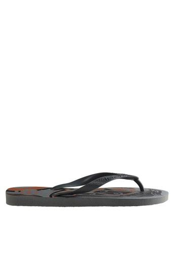 Havaianas grey Top Conceitos 17 Sandals & Flip Flops HA021SH0J83OPH_1