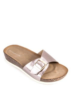 Pin Buckle Sandals