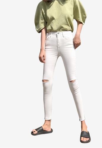 Lara white Women Mid-Rise Jeans FBC50AA22101B5GS_1