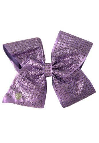Jojo Siwa purple JOJO SIWA BOW WITH CLIP (PURPLE RHINESTONE) DAD9BKCFC8E2F2GS_1