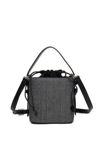 Milliot & Co. grey Zanna Top Handle Bag 8B0C1AC2C8F420GS_1