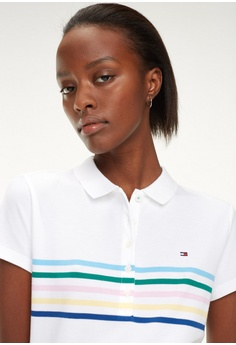 cce2203b 15% OFF Tommy Hilfiger NEW CHIARA STR STP PQ POLO SS S$ 159.00 NOW S$  135.15 Sizes XS S XL