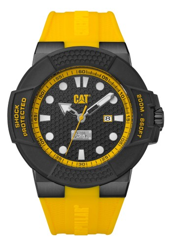 Caterpillar yellow Sporty Men's Watches CAT SF.161.27.117 59629AC13202BBGS_1
