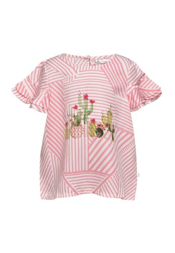 Miss Monique pink Blouses 19413KA1FAB5A3GS_1