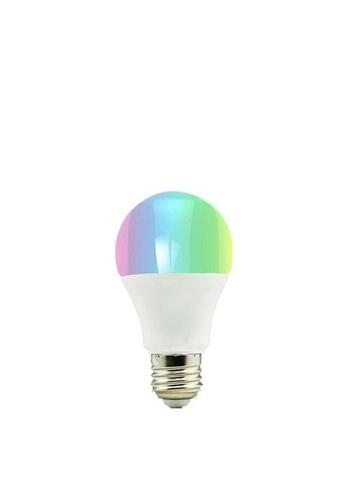 UKGPro white UKGPro - 彩色UKG智能WiFi電燈泡-E27螺頭,LED護眼不閃頻彩色自由調節智慧A60燈膽語言聲控可遠程監控開關DIY自置智能燈光系統彩色任意調色預設燈光場景定時排程倒計與其他聯動(U-A60-RGBW) 0008FES6F4D1F9GS_1