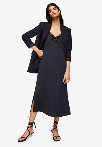 Mango grey Modal Camisole Dress 7D4ECAA81626EEGS_1