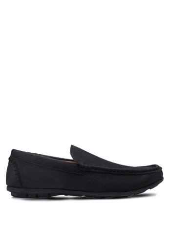 Bata black Slide-On Loafers 515A9SH943F43AGS_1