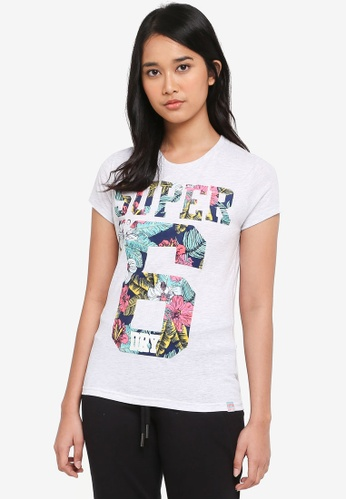Superdry grey Super No.6 Infill Entry Tee 1BB51AA298D922GS_1