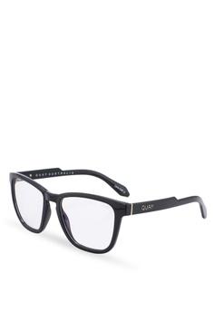 b8e885b65d7c Quay Australia black Hardwire Glasses 29975GL86EDD29GS 1