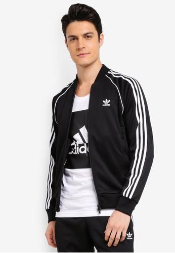 adidas black adidas originals sst tt AD372AA0SUXVMY_1
