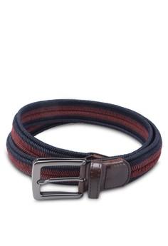 Fishbone Shape Wax Nylon Woven Belts