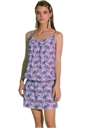 Akosée blue Ludus Beach Dress 775F1AACFA2865GS_1