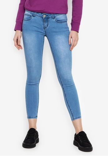 387d44d35 Shop Crissa Washed Skinny Jeans Online on ZALORA Philippines