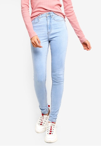 Factorie blue The Skinny High Rise Jeans 90394AAD7BF460GS_1