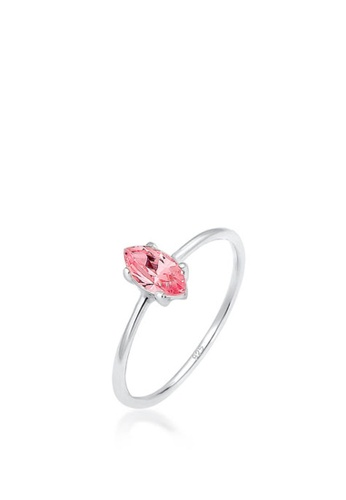 ELLI GERMANY silver Ring Minimal Zirconia 34BC2AC23C46FEGS_1