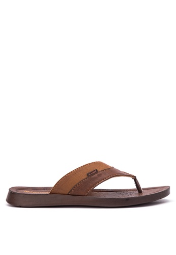 Inblu brown Aerowalk by Inblu 7501-Sandals & Flip Flops IN809SH00MWDPH_1