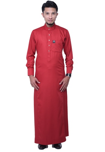 Maribeli Butik red MB Man Zulqarnain Red MA905AA50BUJMY_1