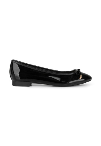 MAUD FRIZON black Soft Patent Leather Ballerina 010F8SH44212DBGS_1