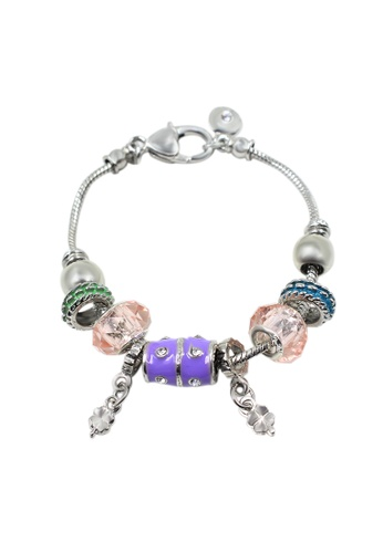 Venice Jewelry pink and silver Venice CB-0003 VE564AC29BNIPH_1