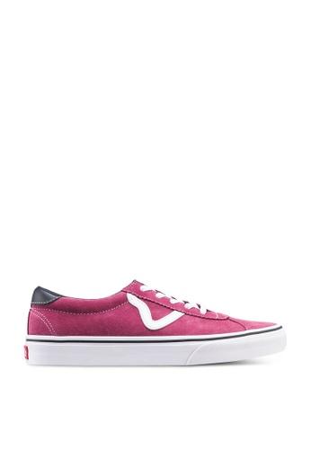 VANS red VANS Sport Sneakers 936F6SH2EB5469GS_1