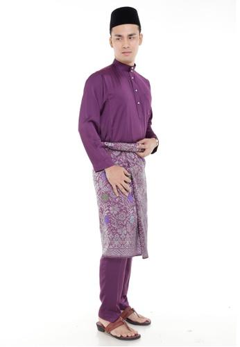 Amar Amran purple Baju Melayu Classic AM362AA89MIWMY_1