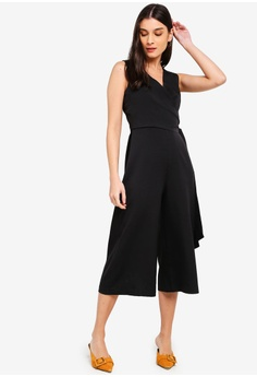 Jumpsuits & Rompers Brand New Zalora Black & White Playsuit