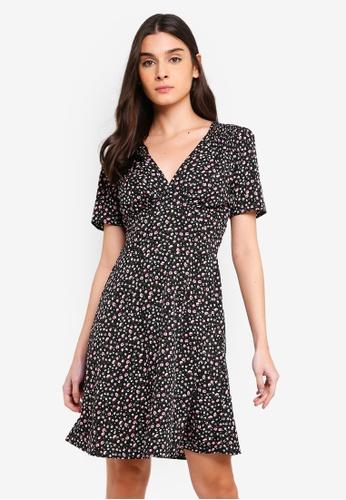 48499df2e36 Buy Dorothy Perkins Ditsy Tea Dress Online on ZALORA Singapore