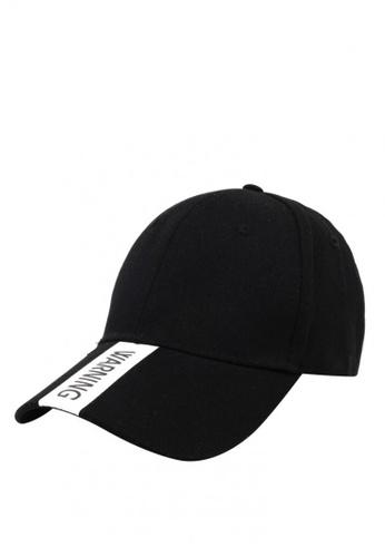 shop cap city international warning brim and back design casual