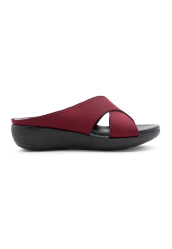 Unifit red Unifit Crossed Strap Wedge 41F65SHBC52570GS_1