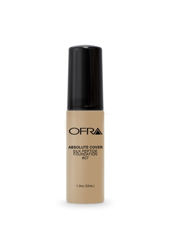 Ofra beige Absolute Cover Silk Peptide Foundation in Shade 7 4C11EBE270B40BGS_1