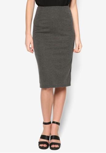 基本款及膝鉛筆短裙, 服飾, zalora taiwan 時尚購物網鞋子裙子