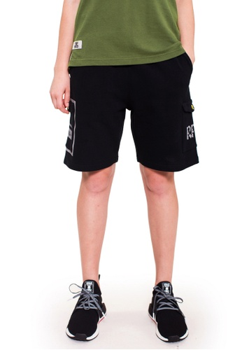 Reoparudo black RPD 331 Edition Sweat Shorts (Black) AC375AABFE9B29GS_1