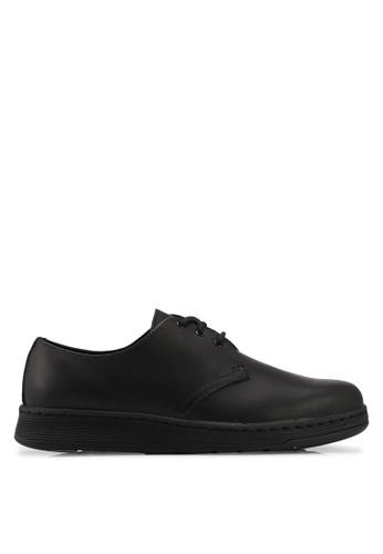 Dr. Martens black Dm'S Lite Ath Leisure Cavendish 3 Eye Shoes DR086SH0SX63MY_1