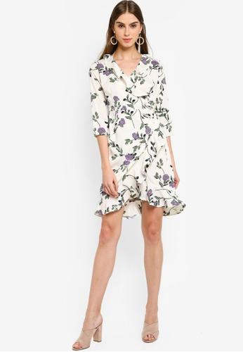 9a25f3ac20 Buy Vero Moda Amsterdam Henna 3/4 Wrap Dress Online on ZALORA Singapore