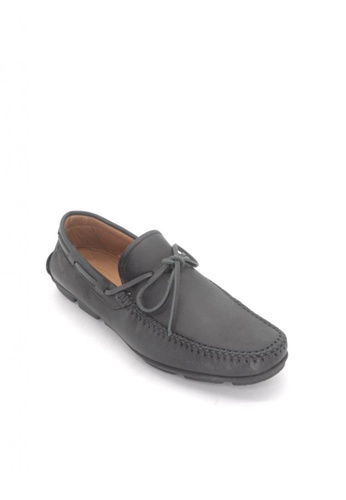 Sebago black Hugo Tie Driving Shoes B2717SH1B806C4GS_1