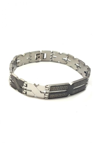 Jewelplace silver Augustus Chain  Stainless Steel Bracelet Bangle EE3DDACDC93E90GS_1